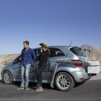 Mit der B-Klasse F-CELL als Wasserspender durchs Death Valley
