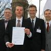 Dipl.-Ing. Markus Menacher für Diplomarbeit ausgezeichnet