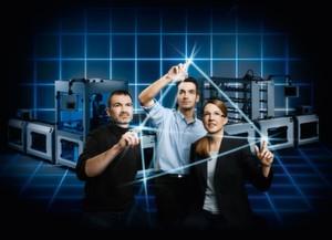 Festo erarbeitet verschiedene Aspekte zur konkreten Umsetzung von Industrie 4.0 unter anderem in einer Reihe von Verbundforschungsprojekten.