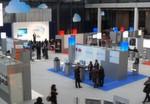 Die CloudZone-Messe hat nur eine kleine Ausstellungsfläche, aber ihr sind zwei Konferenzen angeschlossen.
