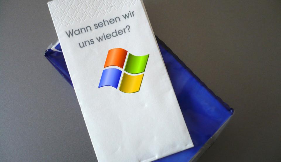 Es soll Firmen geben, die den Abschied von Windows XP bedauern, das erste stabile Betriebssystem aus dem Hause Microsoft.