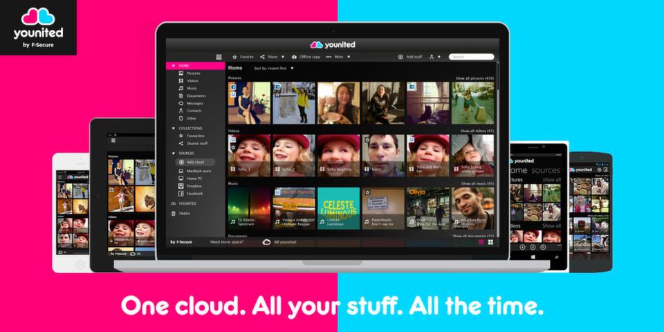 Unter der Plattform Younited will F-Secure verschiedene Cloud-Dienste und Geräte miteinander verbinden.