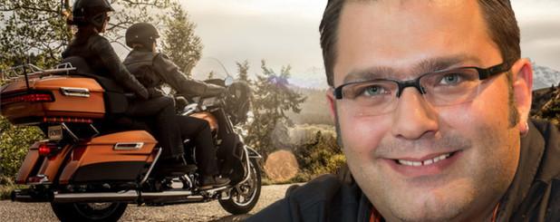Frank Klumpp von Harley-Davidson Germany über den anhaltenden Harley-Run. (Foto: Harley-Davdison/Collage: Elisabeth Haselmann) - 24