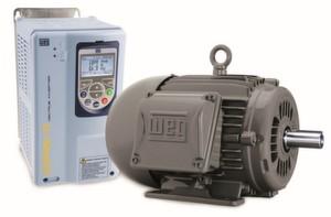 Den IE5 Permanentmagnetmotor stellt WEG in Sachen Energieeffizienz auf der Hannover Messe 2014 vor.