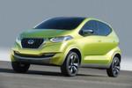 """Mit der Studie """"Redi-Go"""" hat Datsun zudem einen Kleinstwagen vorgestellt."""