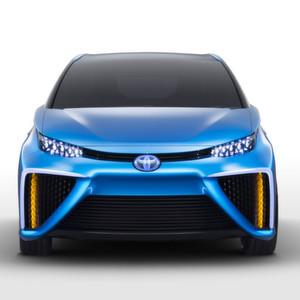 Wie schon der erste Prius soll auch das FCV-Design zeigen: Ich bin etwas besonderes.
