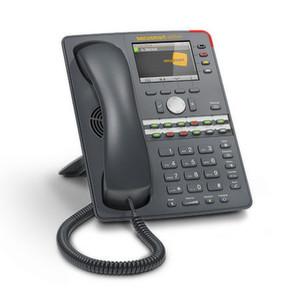 """Abhörsicherheit made in Germany: das IP-Telefon """"Snom 760 Secusmart Edition"""" soll im Herbst 2014 kommen."""