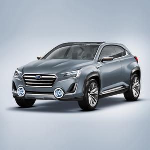 Der Subaru Viziv 2 Concept: Sein Plug-In-Hybridsystem besteht aus einem 1,6-Liter-Boxer mit Benzindirekteinspritzung und drei Elektromotoren