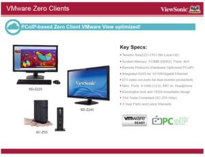 Abbildung 2: Von außen ein Monitor, doch im Innenleben ein Thin Client: das Modell SD-Z225