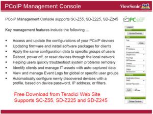 Abbildung 3: Die Management-Konsole für die PCoIP-Devices stammt von Teradici.