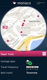 Monaco und Bosch arbeiten an der vernetzten Stadt von morgen: Der Schwerpunkt wird zunächst im Bereich der Mobilität liegen. Dabei werden die städtische Infrastruktur und öffentliche Dienstleistungen virtuell verknüpft, z.B. Papier- und Müllsammlung oder Straßenarbeiten. Die Stadtbewohner erhalten dadurch Informationen in Echtzeit.