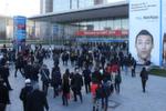 Auftakt zur weltgrößten IT-Messe bei strahlendem Wetter in Hannover.