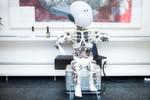 Der Roboter Roboy feiert im März seinen ersten Geburtstag.