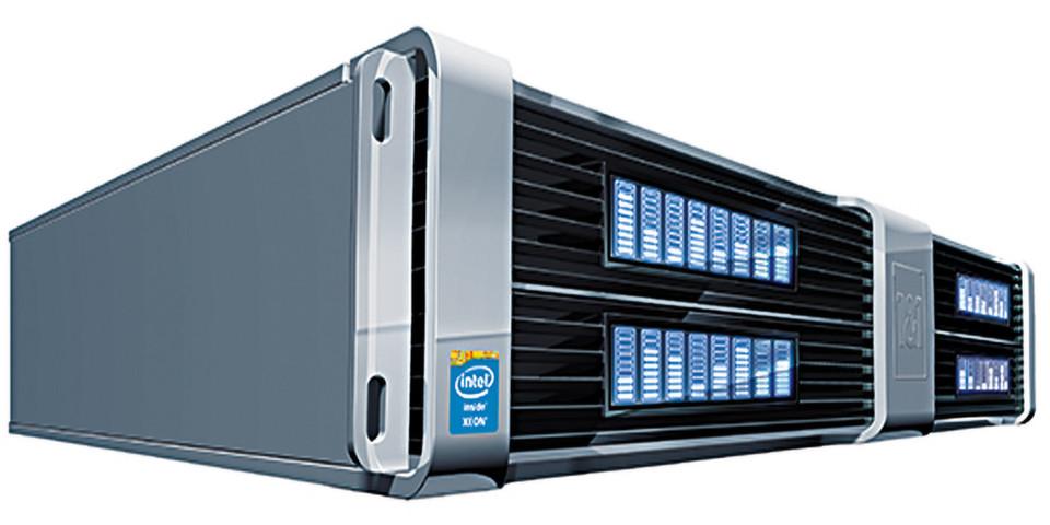 Der dedizierte Server X4i , mit einem Intel Xeon E3-1270 V3- Prozessor der neuesten Generation bestückt und 30 Prozent schneller als das Vorgänger-Modell.