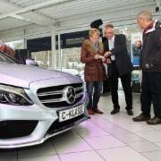 Am 15. März hatten die Mercedes-Verkäufer viel zu tun.