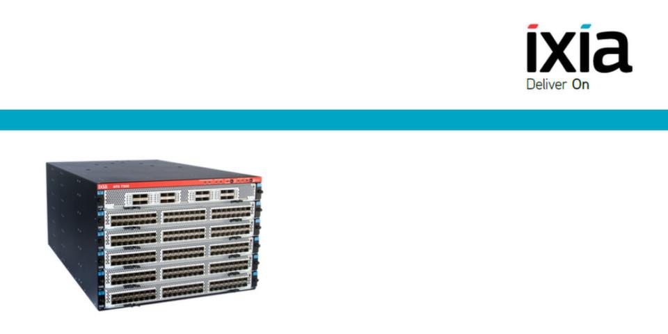 Der NTO 7300 in Zahlen: Sieben Höheneinheiten, 91 Kilogramm bis zu 384 10GE-Ports.