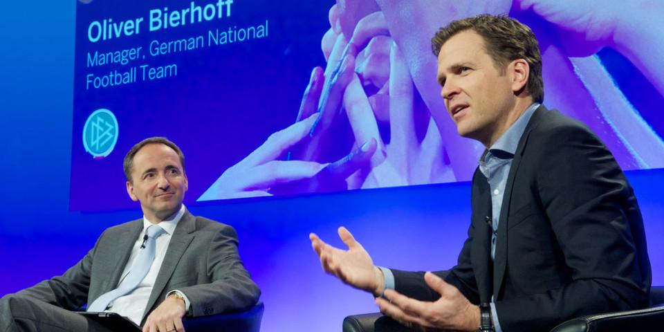 Oliver Bierhoff, Manager der Deutschen Fußball-Nationalmannschaft