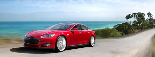 Tesla Model S: Die modernen Hightech-Karossen sind zwar gut für die Umwelt, aber empfindlich für Hacker-Angriffe