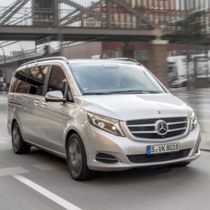 Die neue V-Klasse von Mercedes feiert ihre Markteinführung Ende Mai.