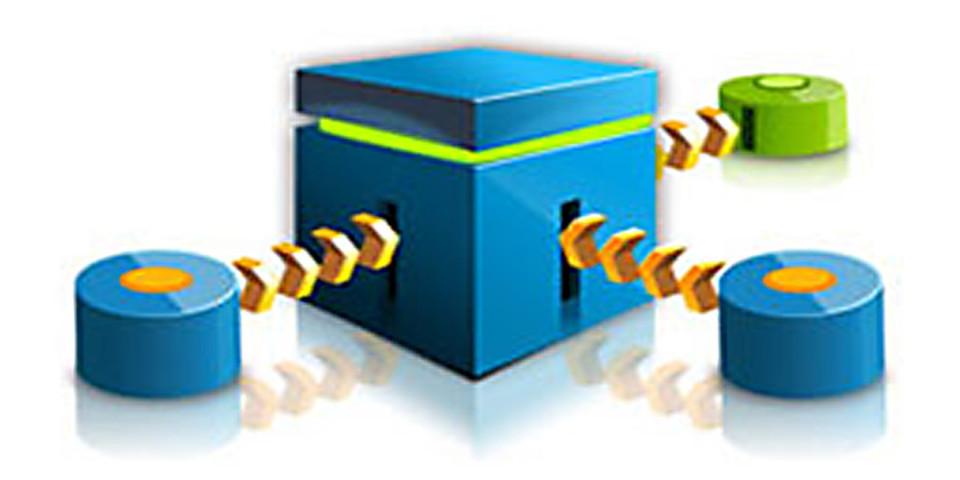 """""""Jaspersoft ETL"""", eine Datenintegrations-Engine, mit der sich Daten aus verschiedenen Datenquellen extrahieren, transformieren und anschließend in ein zentrales Data Warehouse oder einen Data Mart laden lassen."""