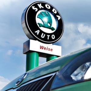 Das Autohaus Weise in Gr�ndau-Lieblos geh�rt jetzt zur Atzert-Weber-Gruppe.