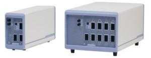 Testhardware: Je nach Anforderung bekommt der Kunde die Testplattform CX1000P oder CX1000D.