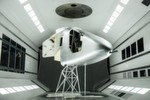 Das Cockpit der SI2 bei Tests im Windkanal