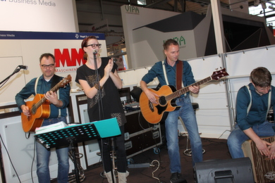 Standparty zur Hannover Messe 2014