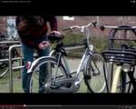 IoT-Starterkit WunderBar von relayr: Am Fahrrad angebracht, kann es Bewegungen registrieren und übermitteln