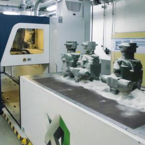 Bei Prototypen wie auch bei Kleinserien ermöglicht der 3D-Druck die Fertigung von Formen und Kernen ohne Werkzeuge.