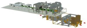 Langhammer hat eine individuelle, hochflexible und hochautomatisierte Palettier-Maschine für verschiedene Branchen mittels der Lösungen von Rockwell Automation entwickelt.