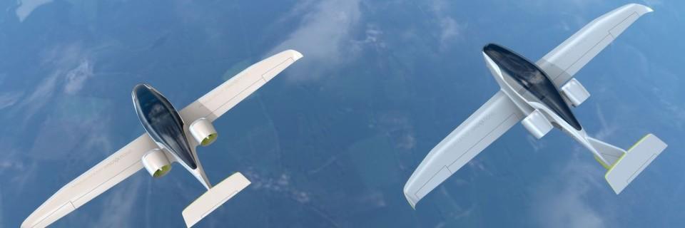 Das Elektro-Flugzeug E-Fan 2.0 von Airbus soll mit 120 Lithium-Polymer-Akkus eine Flugzeit zwischen 45 bis 60 Minuten ermöglichen. Die Version 4.0 ist bereits in der Entwicklung.