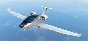E-Flugzeug hebt mit 120 Lithium-Polymer-Akkus ab