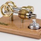 Der Stirlingmotor stellt sich vor