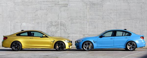 Mit dem M3 und seinem Schwestermodell M4 stellt BMW zwei betont sportliche Modelle vor.