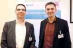 """Christian und Thomas Fischer, Tecart (Austeller):""""Wie jedes Jahr ist das eine Veranstaltung mit qualitativ hochwertigen Gesprächen. Unsere Erwartungen – gutes Netzwerken sowie neue Erfahrungen durch die gebotenen Vorträge – wurden auf jeden Fall erfüllt."""""""