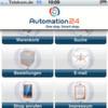 Produkte von Automation24 bequem unterwegs bestellen