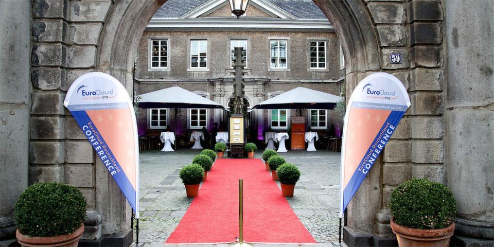 Die Verleihung der EuroCloud Deutschland Awards fand auch 2014 wieder in der Kölner Wolkenburg statt.
