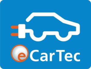 """Die eCarTec Munich findet als 6. Messe für Elektro- und Hybrid-Mobilität auf dem Gelände der Messe München vom 21. bis 23. Oktober 2014 statt. Als Themenschwerpunkte wurden """"Powertrain & Electronics"""", """"Energy & Infrastructure"""", """"Energy Storage"""" und """"Electric Vehicles"""" definiert sowie die Sonderschauen """"sMove360°-Connected Drive"""", """"eBikeTec""""und """"Mobility Concepts"""". Zudem findet die Parallelmesse Materialica 2014 als Fachmesse für Lightweight Design for New Mobility statt."""