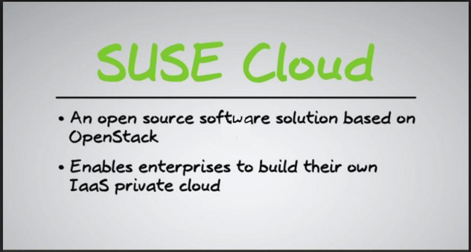 Suse Cloud 3 basiert auf dem OpenStack-Release Havana.