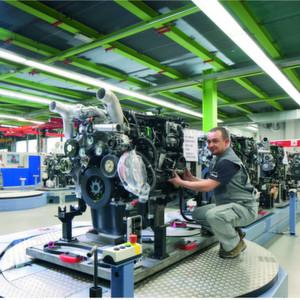 Bei MAN in Nürnberg wurden die Abläufe in der Montage gezielt optimiert.