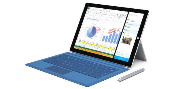 Nur im ausgewählten Handel: Das Surface Pro 3 samt Zubehör