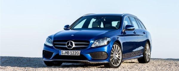 Kurz nach dem Start der Limousine schiebt Mercedes die Kombiversion der C-Klasse nach.