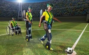 So könnte die Szene bei der WM-Eröffnung aussehen.