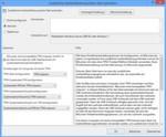 Die Richtlinien-Einstellung Zusätzliche Authentifizierung beim Start anfordern muss auf Aktiviert gesetzt sein. Das Kontrollkästchen BitLocker ohne kompatibles TPM zulassen muss ebenfalls aktiviert werden.