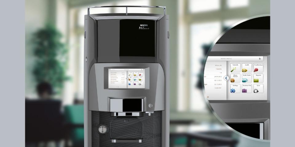 Mit der vernetzten Kaffeemaschine Milano 2.0 von Nestlé Professional halten auch in der Kaffeebranche die Themen Big Data und Datability Einzug.