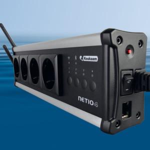 Netio4: Die Steckdosenleiste lässt sich per Internetbrowser oder Smartphone aus der Ferne steuern