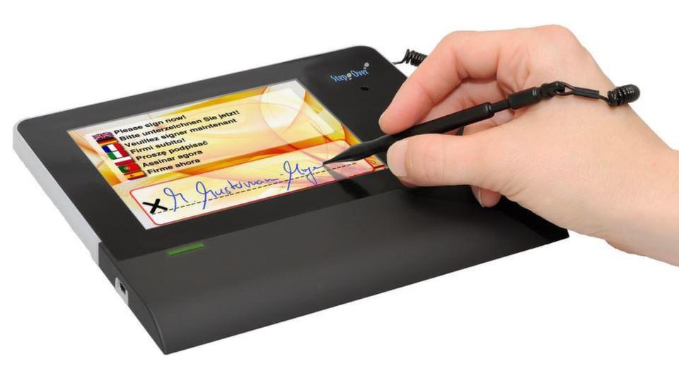 Clients von Igel unterstützen jetzt Signatur-Pads von StepOver.