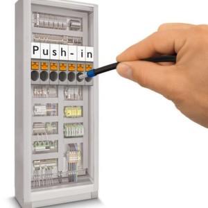 Mit der Push-in-Anschlusstechnik lässt sich der Prozess der Verdrahtung deutlich rationalisieren.