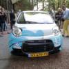 Debüt eines Elektroautos mit Aluminium-Luft-Batterie auf der Teststrecke